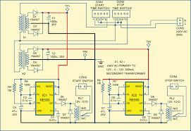 cell phone motor starter controller circuit diagram circuit