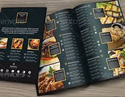 menu templates 30 food menus templates for café and restaurants ginva