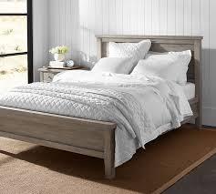 gray bedroom sets farmhouse bed pottery barn