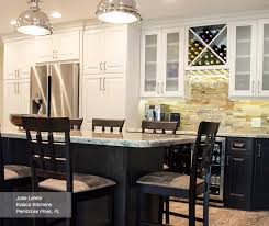 Kitchen Off White Cabinets Off White Cabinets With Dark Kitchen Island Homecrest
