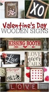 wooden signs decor s day wooden signs