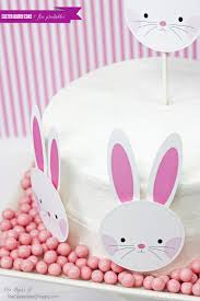 easy easter bunny cake free printable templates easter bunny