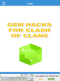 Home Design Game Free Gems Free Gem Hacks For Clash Of Clans On The App Store