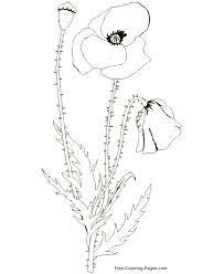 coloring pages poppy
