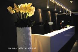Lobby Reception Desk Ds 021 Corian Made Designed Hotel Lobby Reception Desk Shop For
