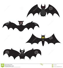 set of halloween bats stock images image 10913664