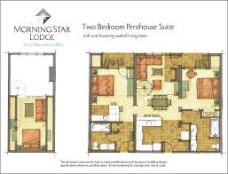 2 Bedroom Penthouse Suite Floorplans U0026 Finishes At Morning Star Lodge Condominiums At Silver