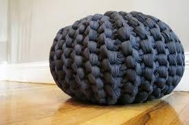 diy knit pouf crafthubs knit pouf ottoman kreyol essence