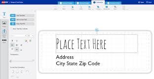 need help customizing a template avery com