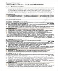 Sale And Marketing Resume Sample Marketing Executive Resume 8 Examples In Word Pdf