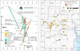 Forgotten Shore Map Report Minaurum Gold Exploring A Forgotten High Grade Silver