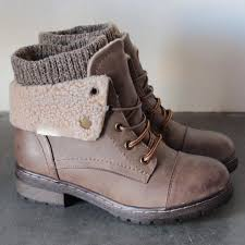 sweater boots shophearts the sweater booties rugged soles fall winter must