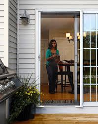 odl brisa retractable screen door for exterior patio doors
