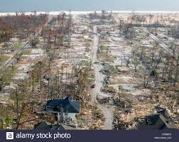katrina homes aerial view of destroyed homes in the aftermath of hurricane