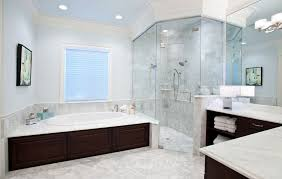Bathroom With Corner Shower Corner Shower Configurations That Make Use Of Dead Spaces