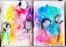 aurora u0027s land art journal golden high flow transparent acrylic paint