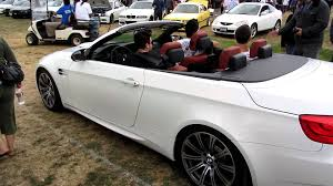 Bmw M3 E93 - e93 bmw m3 convertible rolling into bimmerfest 2011 west youtube