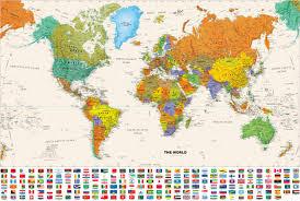 Worl Map World Maps Sage