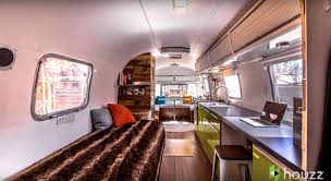 tiny homes interiors jordan u0027s 1976 airstream tiny home interior vintage travel
