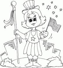 patriotic coloring pages usa flag fireworks coloringstar