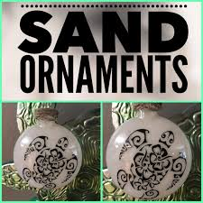 turtle hawaii aloha shuka glass ornament personalized ornament