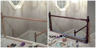 Replace Banister With Half Wall 6 Step Banister Redo Bits Of Everything