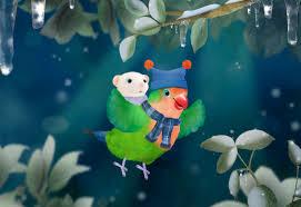 Backyardigans Worm Image 3rd U0026 Bird A Very Squooky Christmas Scene Jpg 3rd