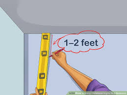 how many feet of christmas lights for 7 foot tree 3 ways to hang christmas lights in a bedroom wikihow