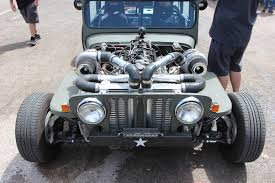 turbo jeep wrangler twin turbo jeep rat rod deathtrap at drag weekend west 2016 video
