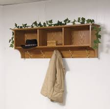 wall mounted clothes rack wooden and different intended for with