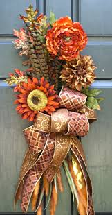148 best fall swags images on pinterest fall swags thanksgiving