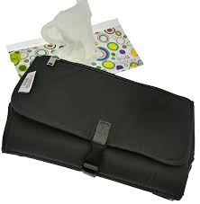 Change Table Pads Beabies Travel Changing Pad With Wipes Dispenser Kit