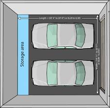 size of 2 car garage standard size garage door houston tx 42 42 42 how wide is