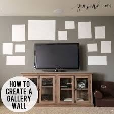 design your own home entertainment center how to create a gallery wall gallery wall walls and create
