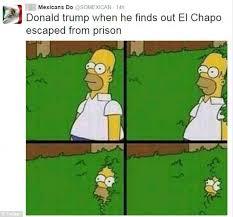 Mexican Meme Jokes - twitter jokes about el chapo escaping prison to take revenge on