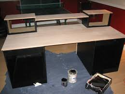 Recording Studio Desk Design by Diy Wooden Desk Home Design Ideas