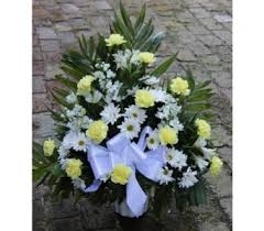 Traditional Flower Arrangement - traditional sympathy arrangement in winchester va flowers by