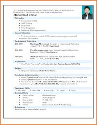 Best Qtp Resume by Resume Format For Freshers Engineers Template