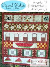 quilt pattern round and round round robin collection free quilt patterns