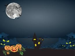 halloween ppt background a scary night powerpoint templates nature free ppt backgrounds