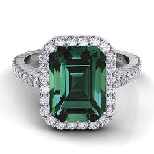 green engagement ring best 25 green engagement rings ideas on emerald