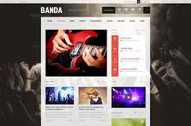 29 best html website templates for bands u0026 musicians web
