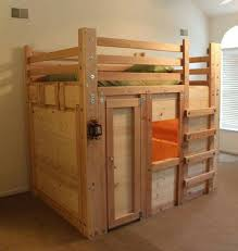 Make Wooden Loft Bed by Best 25 Bunk Bed Fort Ideas On Pinterest Fort Bed Loft Bed Diy