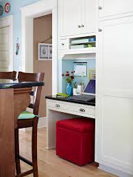Small Kitchen Desks Home Office Storage Organization Solutions Ottomans Desks And