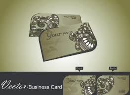 Credit Card Business Cards Designs Floral Business Card Vector Free Vector Download 27 822 Free