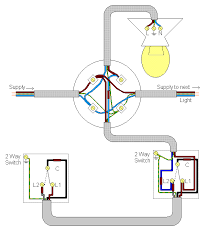 wiring diagram how to wire it wiring a 2 way switch light 2way