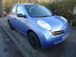 nissan micra gumtree manchester nissan micra 2004 manual petrol 5 door sky blue in romford
