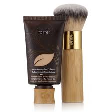 tarte amazonian clay full coverage foundation with brush page 1