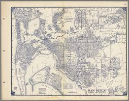 San Diego California Map by Thomas Bros Map Of San Diego National City U0026 La Mesa California