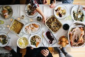 thanksgiving thanksgiving dinner in progress meal ideas healthy